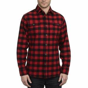 NEW JACHS Men's Brawny Flannel Shirt Size Medium
